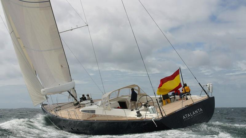 ikigai take five sejaa atalanta sailing yacht jfa 25m 2002 half stern before refit