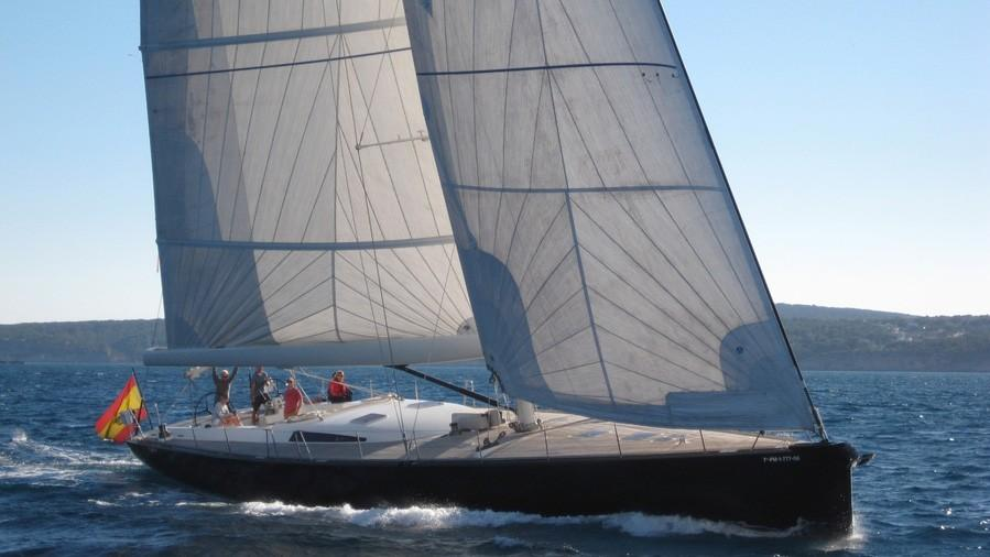 ikigai take five sejaa atalanta sailing yacht jfa 25m 2002 half profile before refit