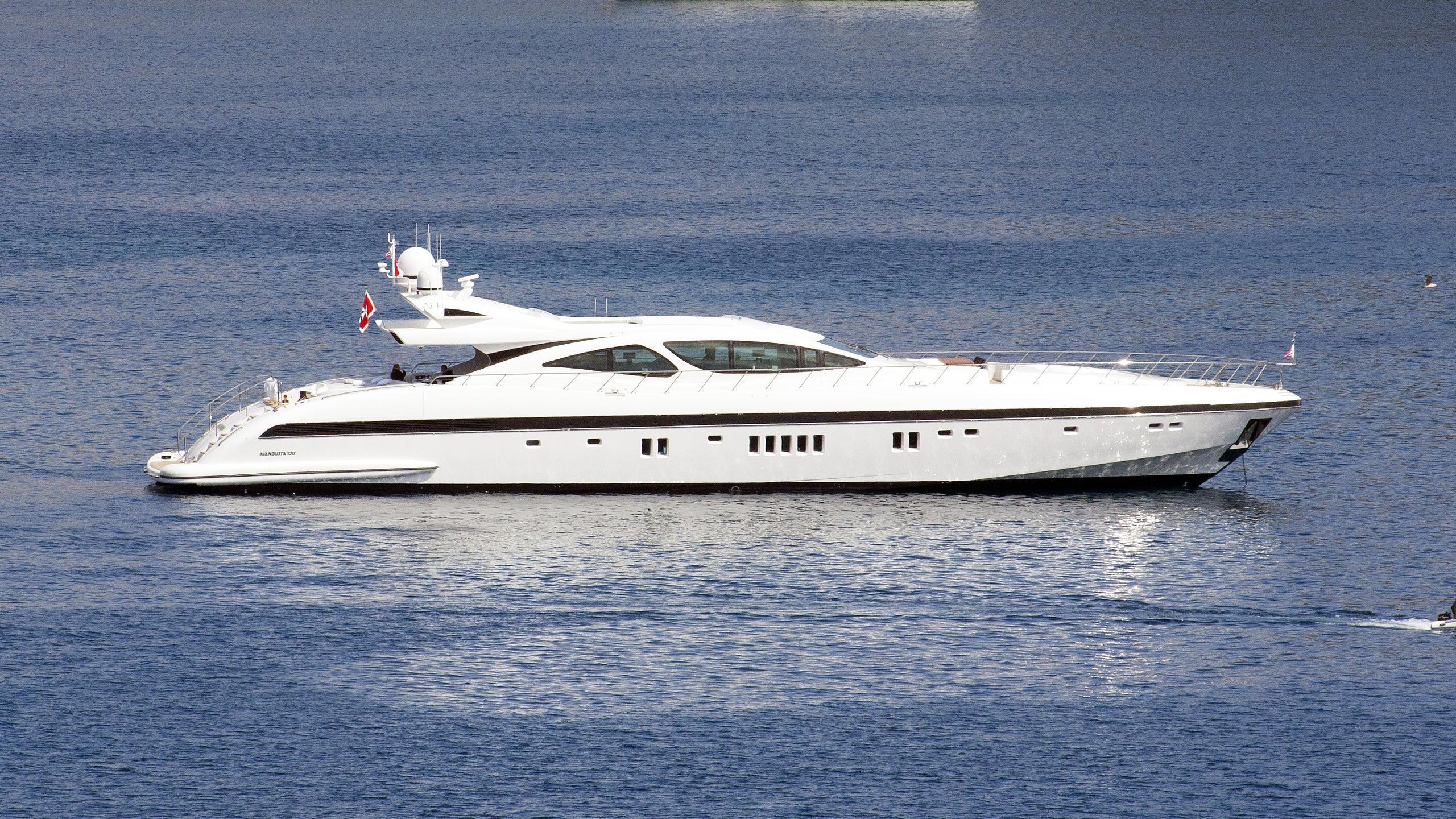 you and g platinum motoryacht overmarine mangusta 130 2009 profile