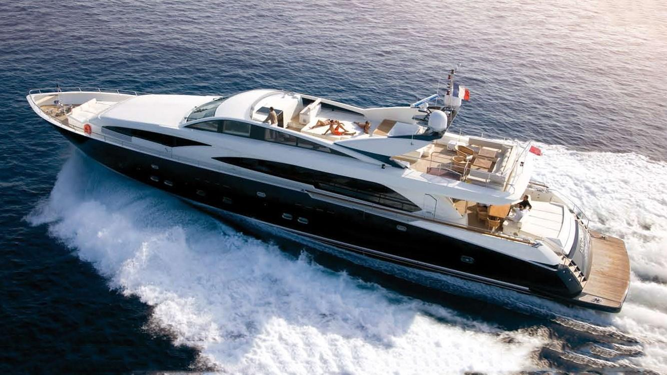3707 Fly motoryacht Chantier Naval Couach 37m 2019 side profile sistership