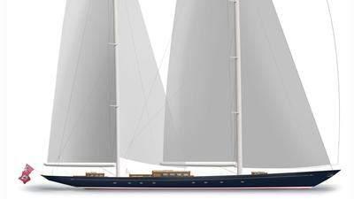 aquarius sailing yacht royal huisman 56m 2018 rendering