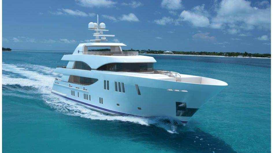 oa 155 motoryacht ocean alexander 47m 2019 rendering half profile