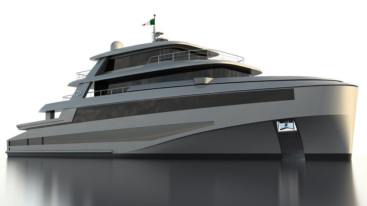 commander 415 explorer motoryacht cerri 2018 42m rendering