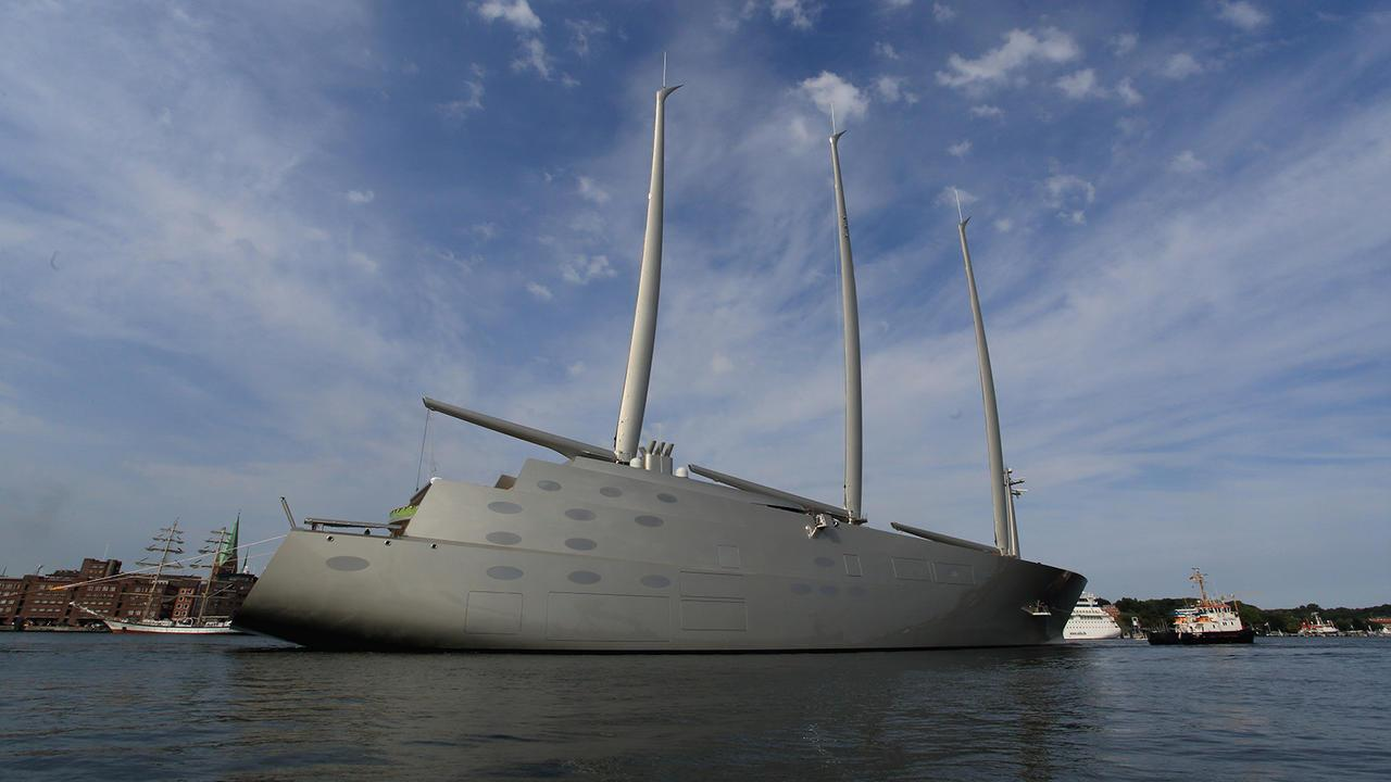 Sailing Yacht A >> Sailing Yacht A Specification And Facts