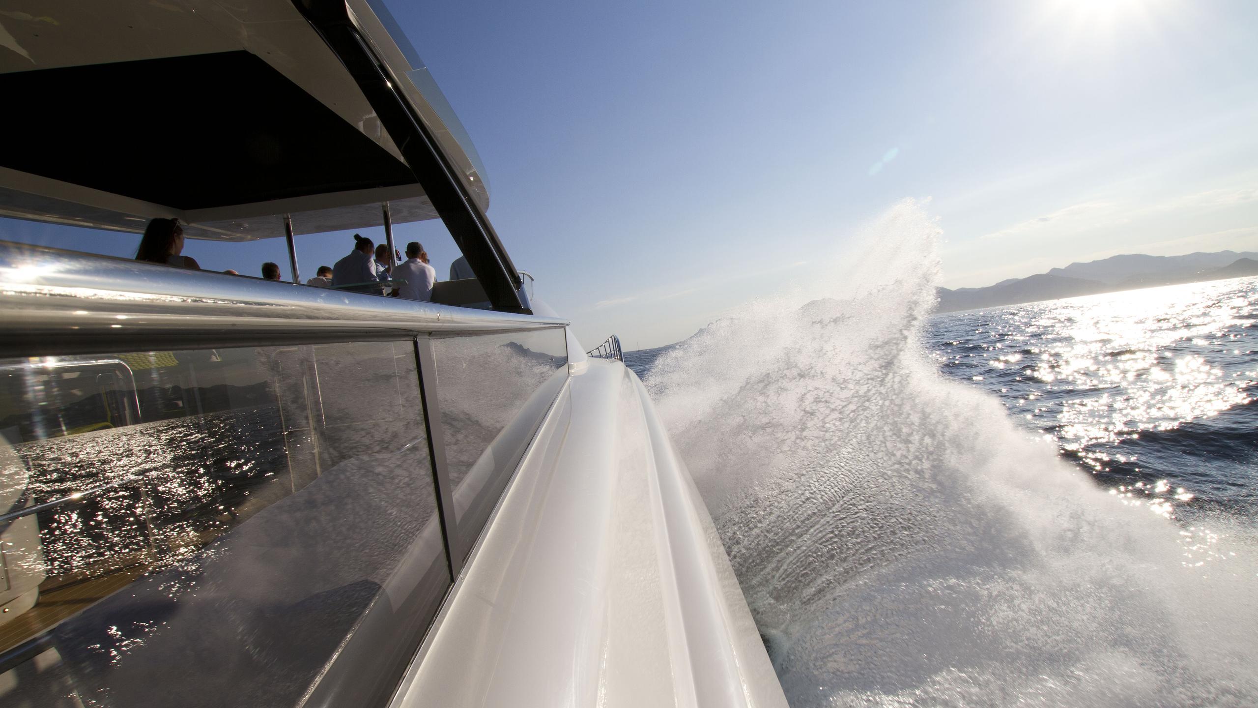 amer cento quad motoryacht permare 2016 30m sea trials