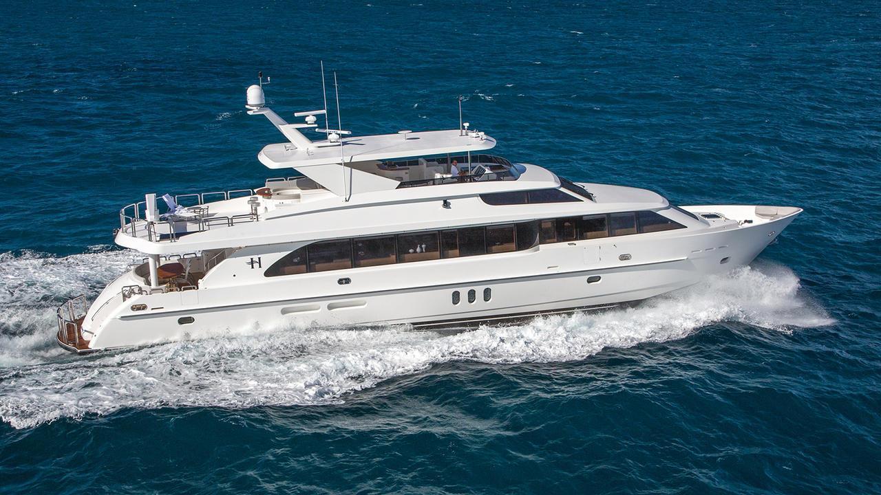 sunny motoryacht hargrave custom yachts 101 2016 31m cruising profile