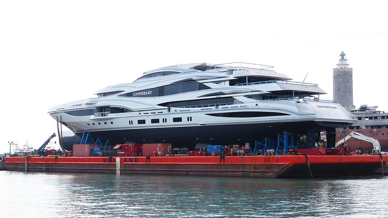 lionheart motoryacht benetti 2016 90m launch