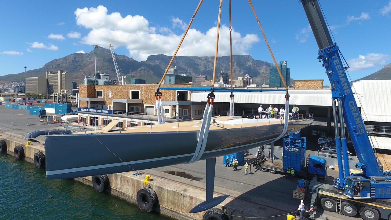 allsmoke sailing yacht southern wind shipyard swrp90 2017 27m half profile launch