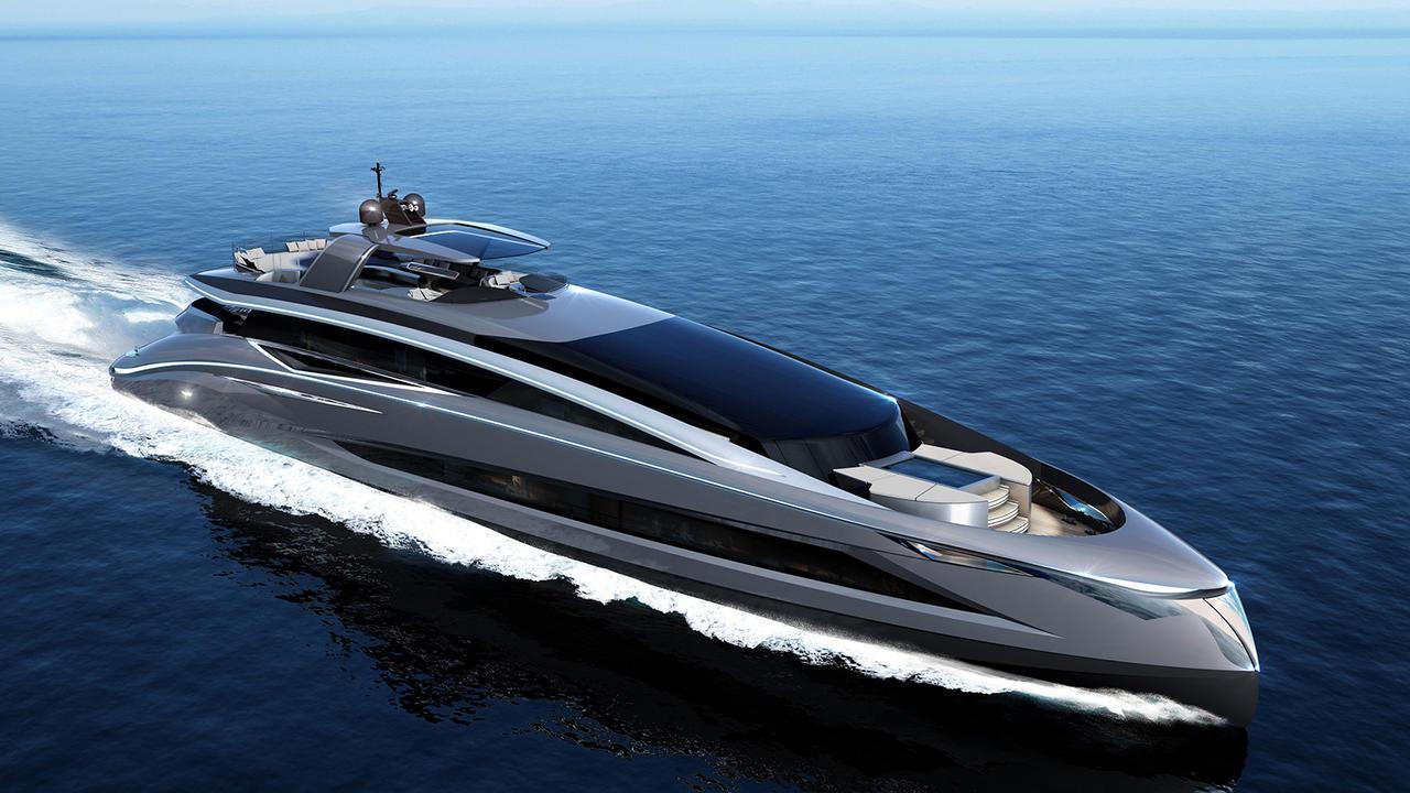 tecnomar evo 115 motoryacht tecnomar 2018 35m rendering