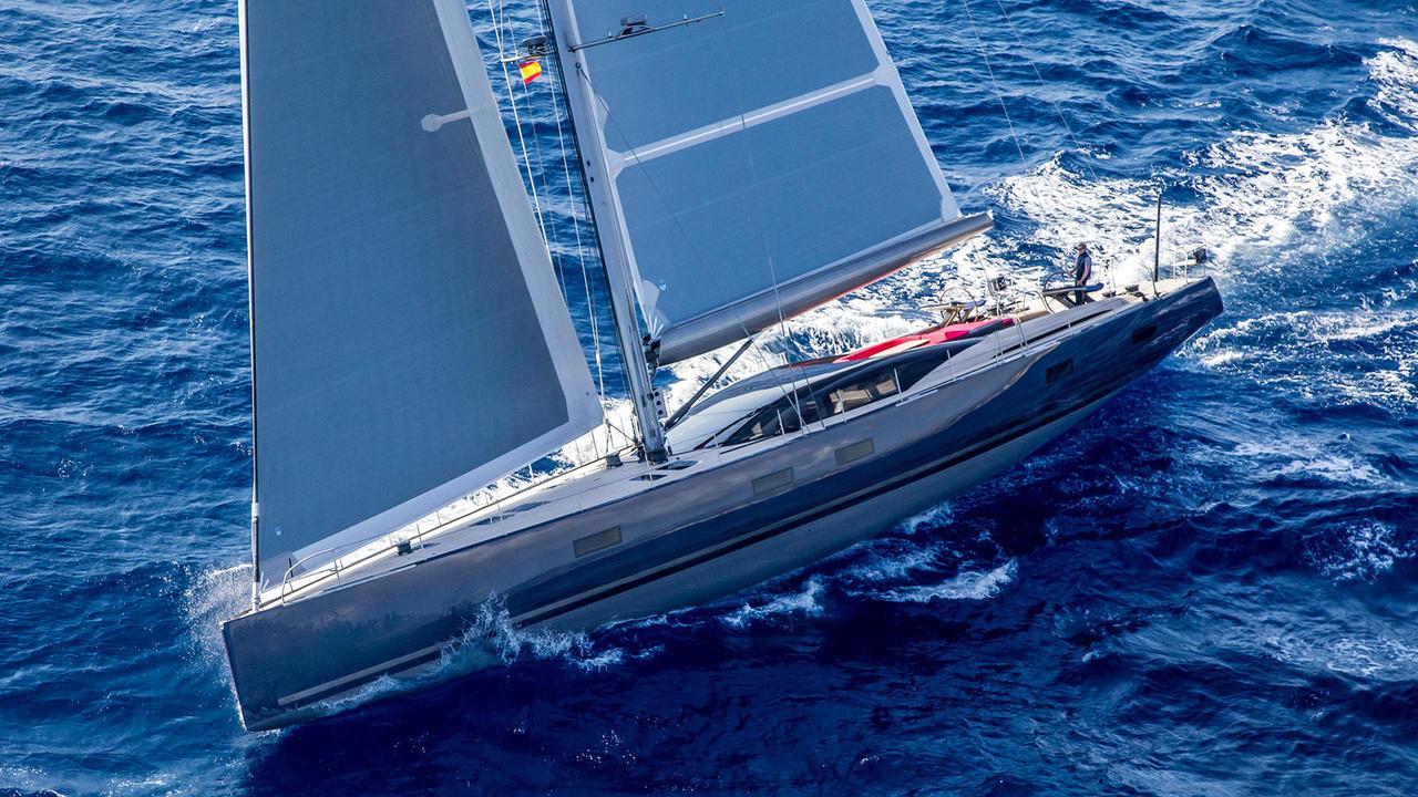missy sailing yacht vitters 2016 33m half profile