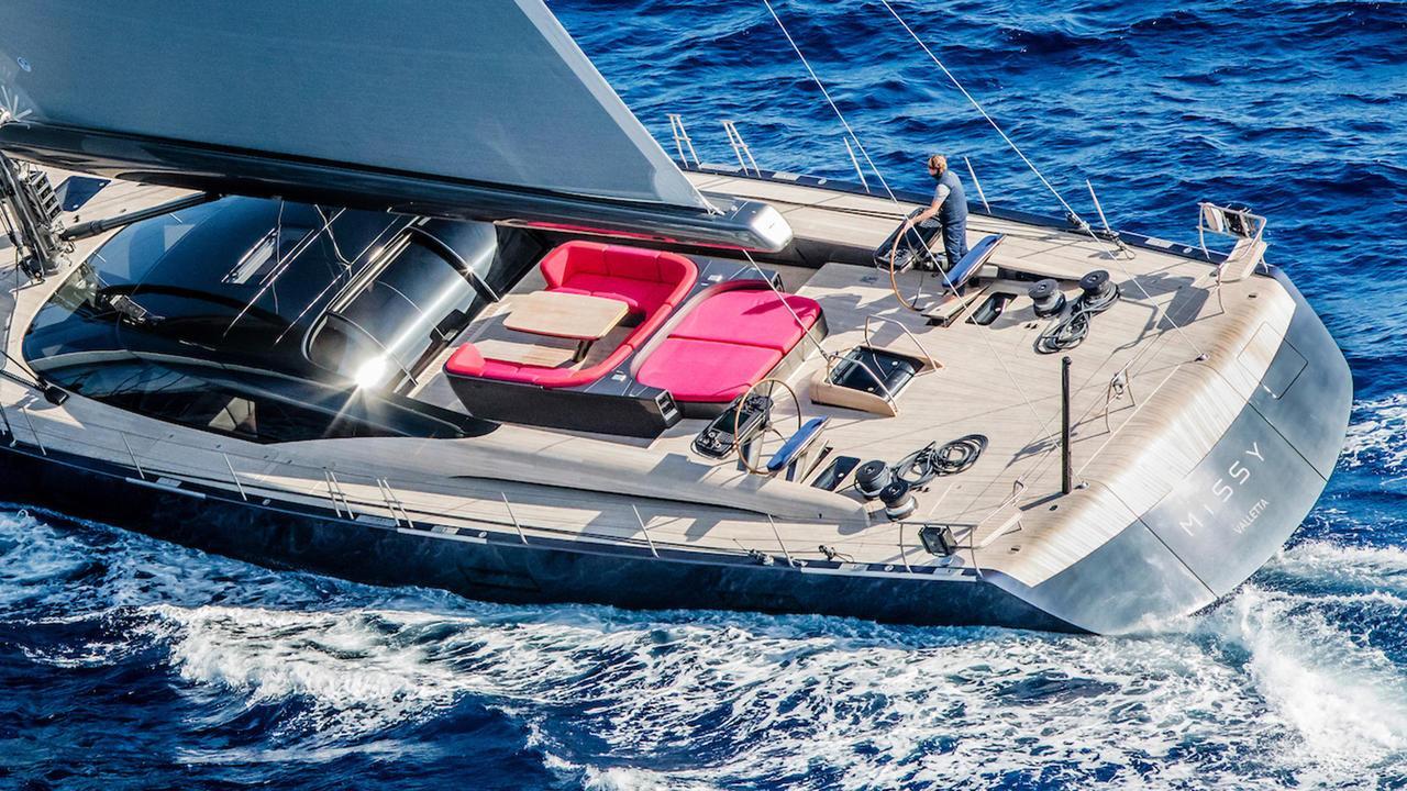 missy sailing yacht vitters 2016 33m aft deck