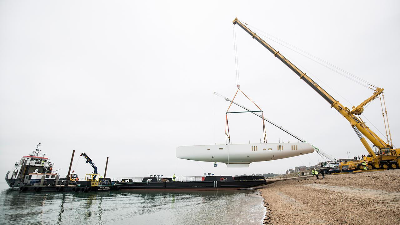 oyster 118 sailing yacht oyster yachts 37m 2019 hull shipped sistership