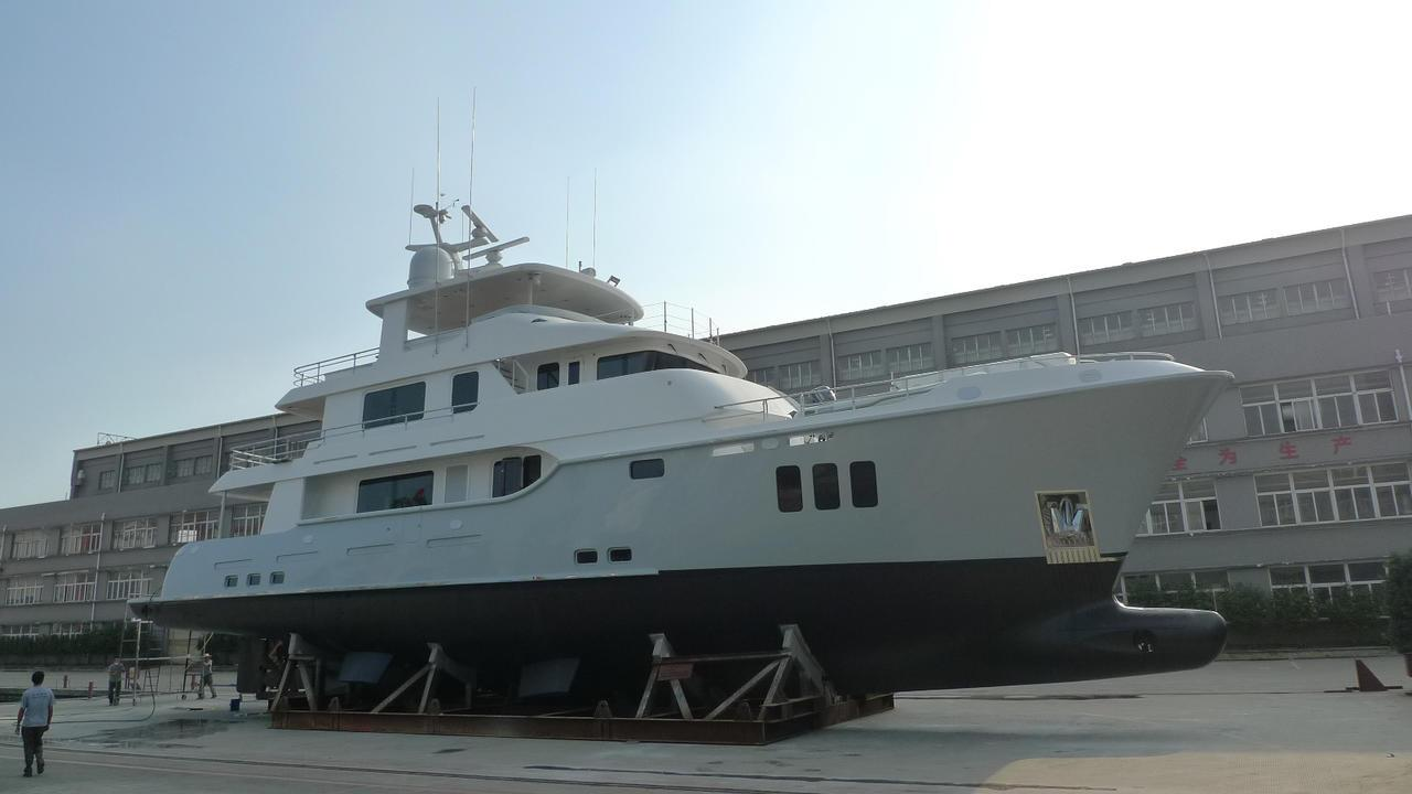 acey kay expedition motoryacht nordhavn 96 29m 2016 launch