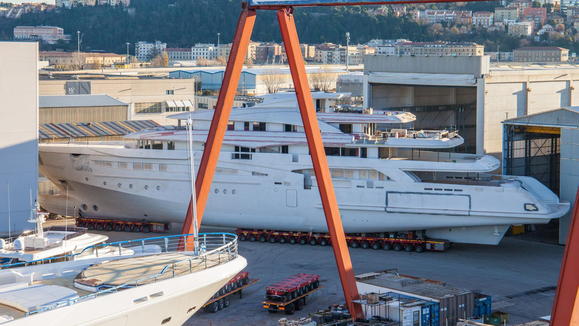 mimtee motoryacht crn yachts 135 80m 2019 under construction