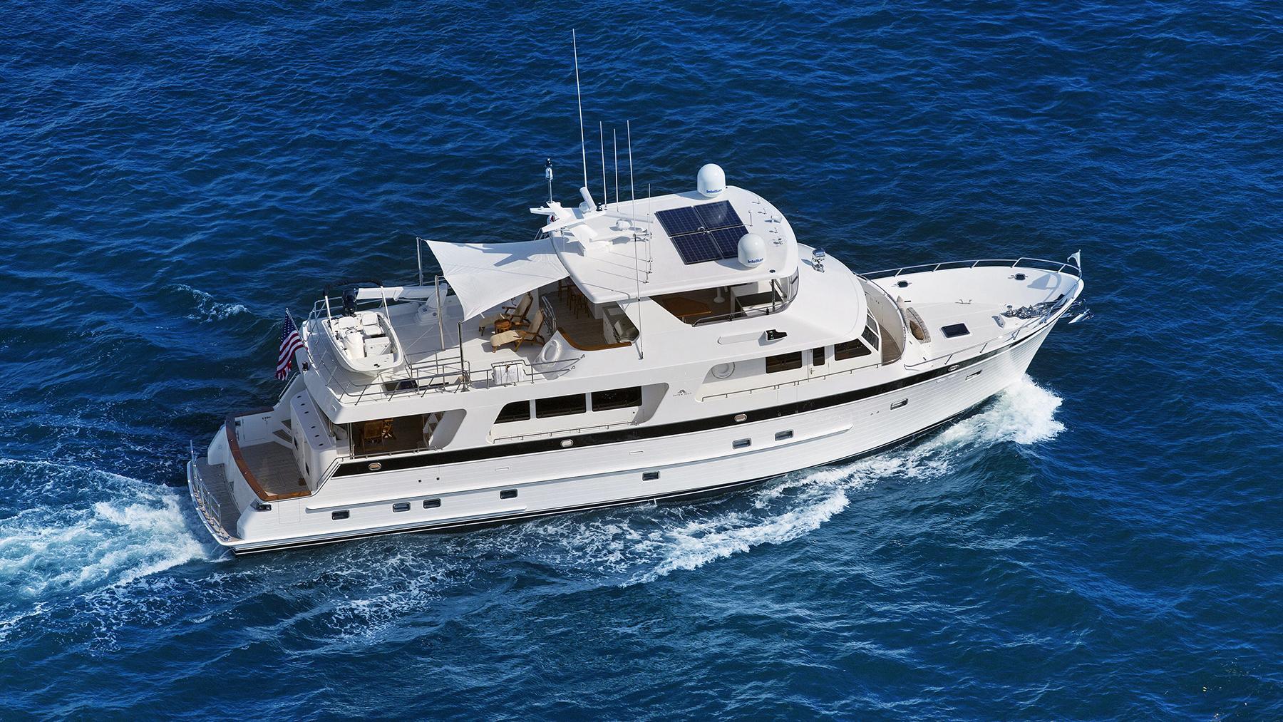 barbara sue ii motoryacht outer reef yachts 2015 25m aerial