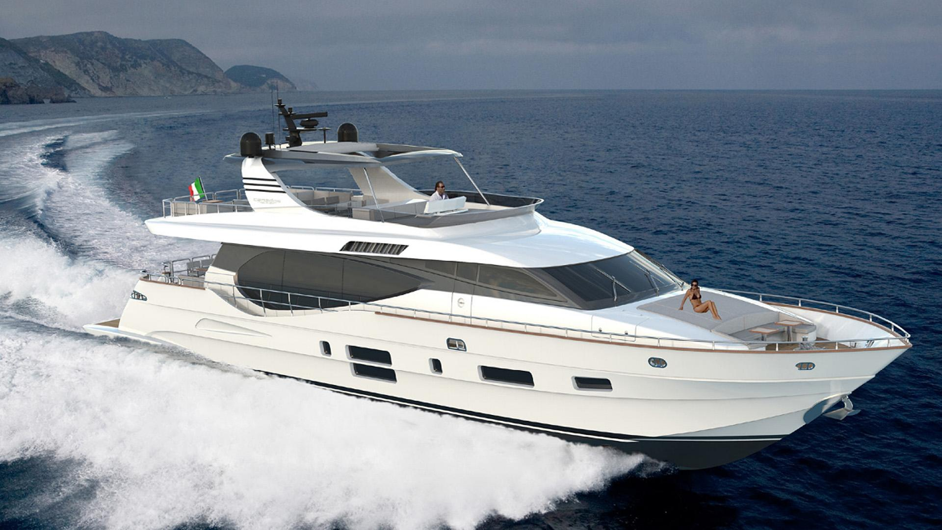 evolution 88 motoryacht canados 27m 2017 rendering
