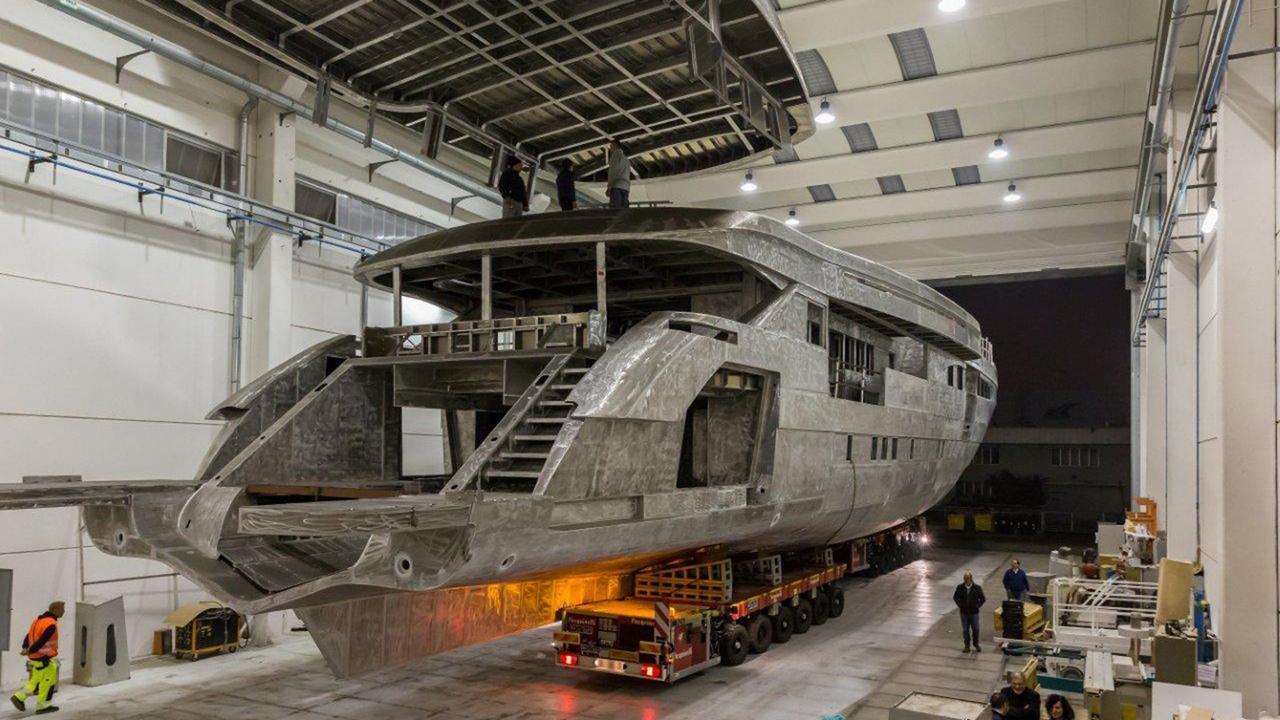 cecilia motoryacht wider yachts 165 50m 2018 under construction