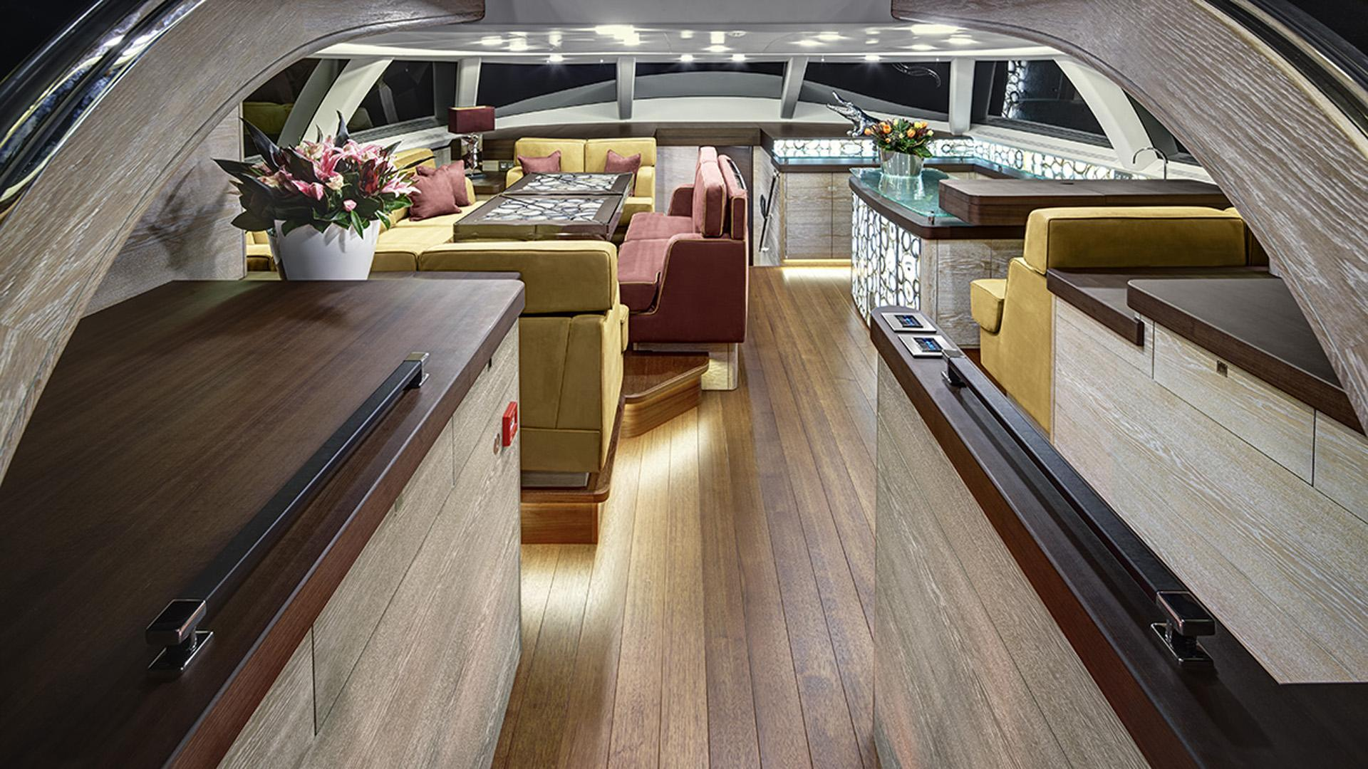 escapade sailing yacht fitzroy yachts 39m 2014 lounge