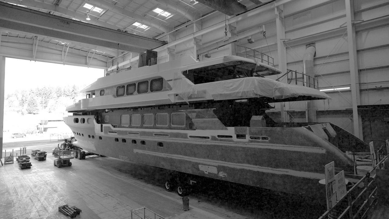 liquidity hull 38 motoryacht christensen 2018 50m under construction