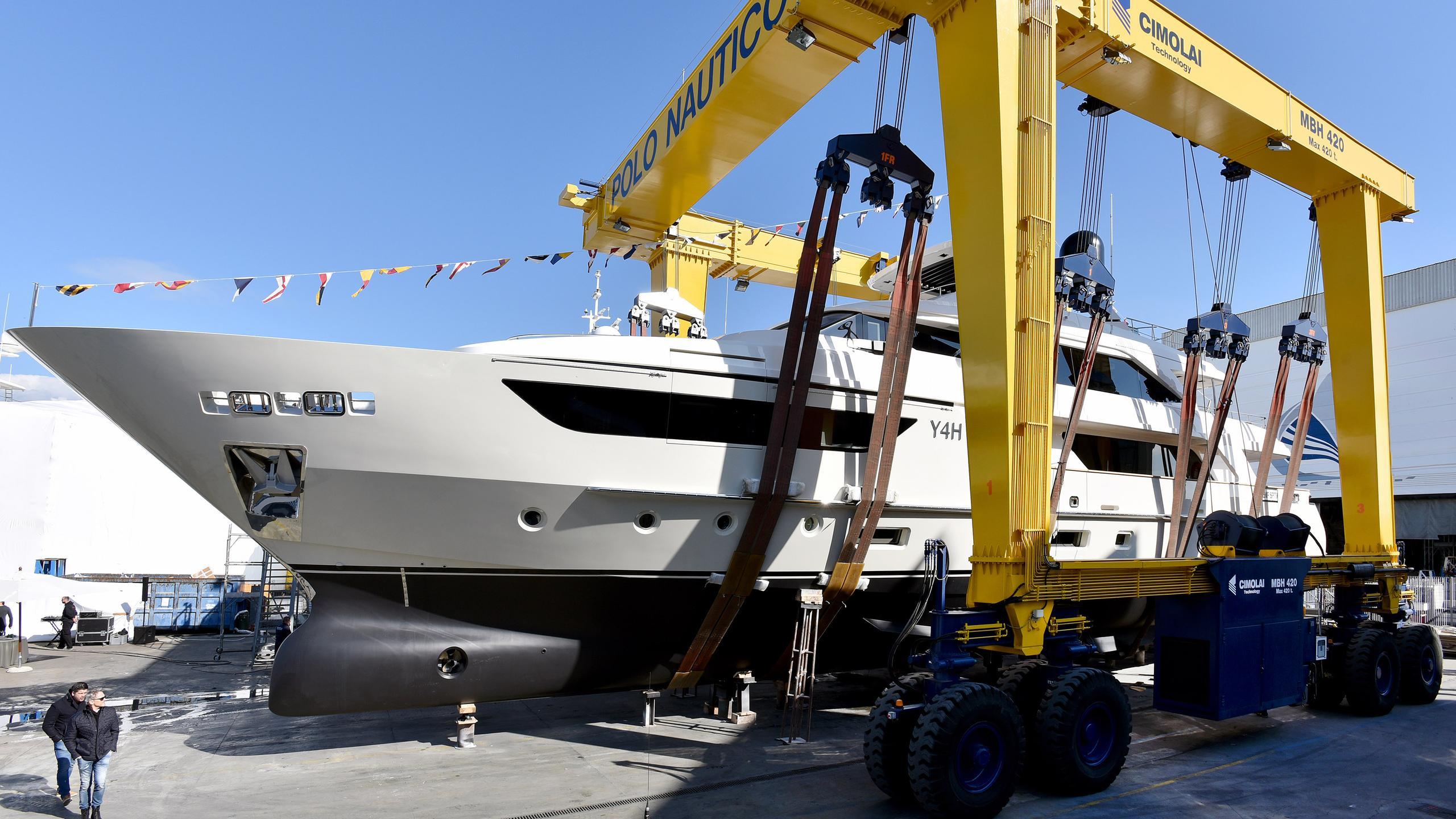 y4h motoryacht sanlorenzo sd126 38m 2017 launch