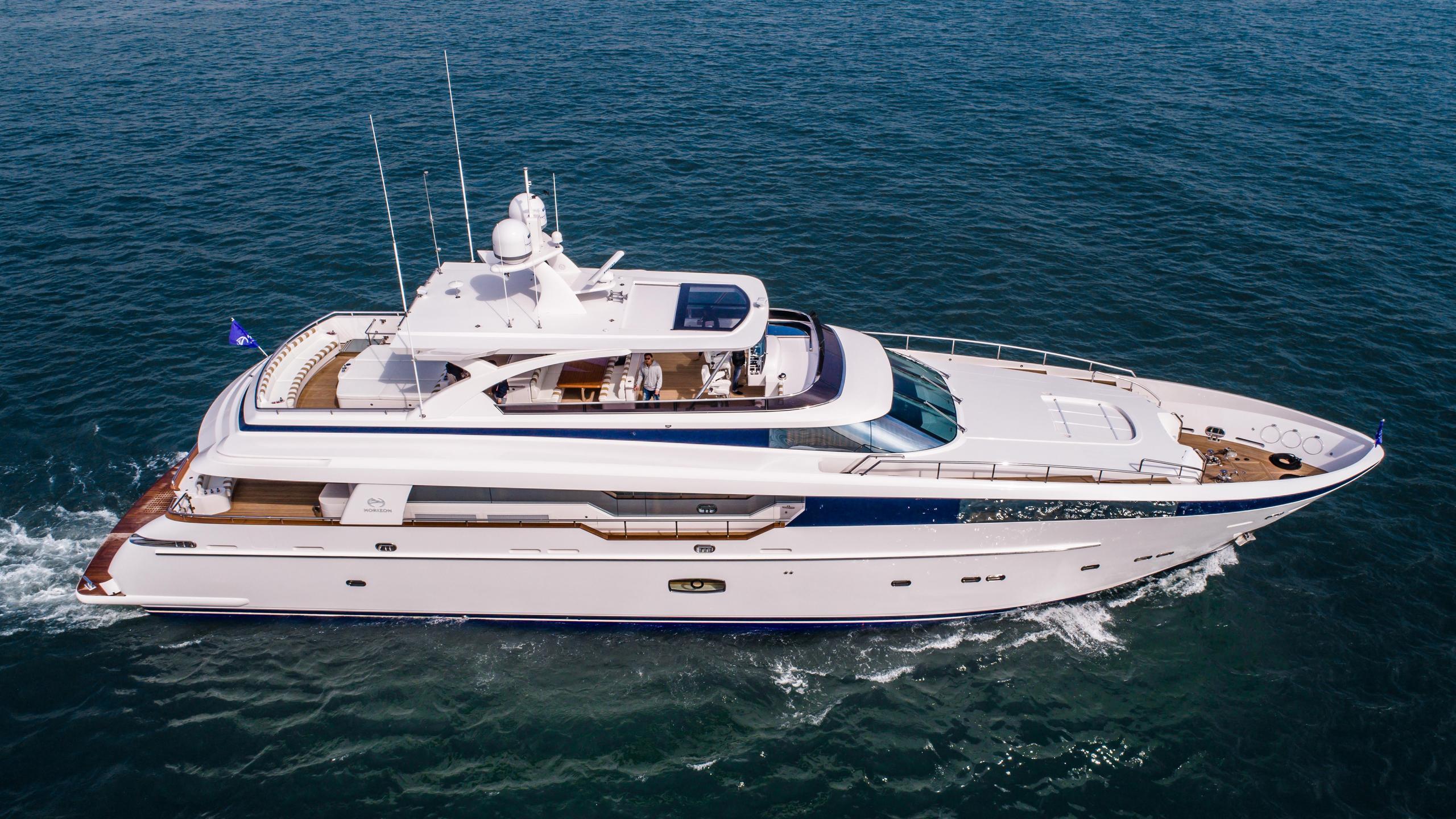 abaco motoryacht horizon rp110 2017 33m profile
