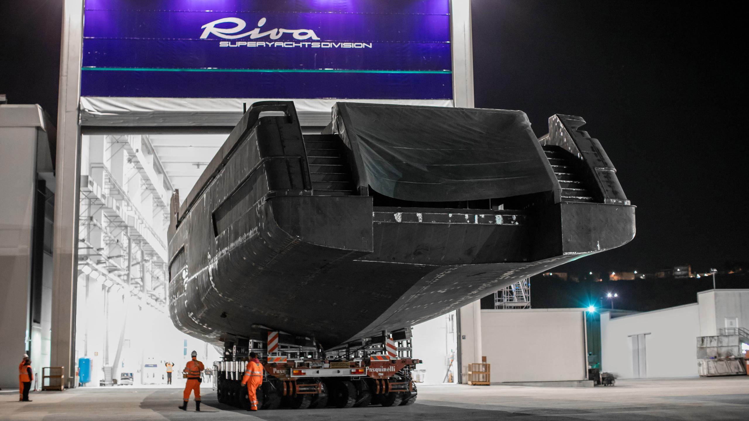 race 50m motoryacht riva yachts 50m 2019 hull stern