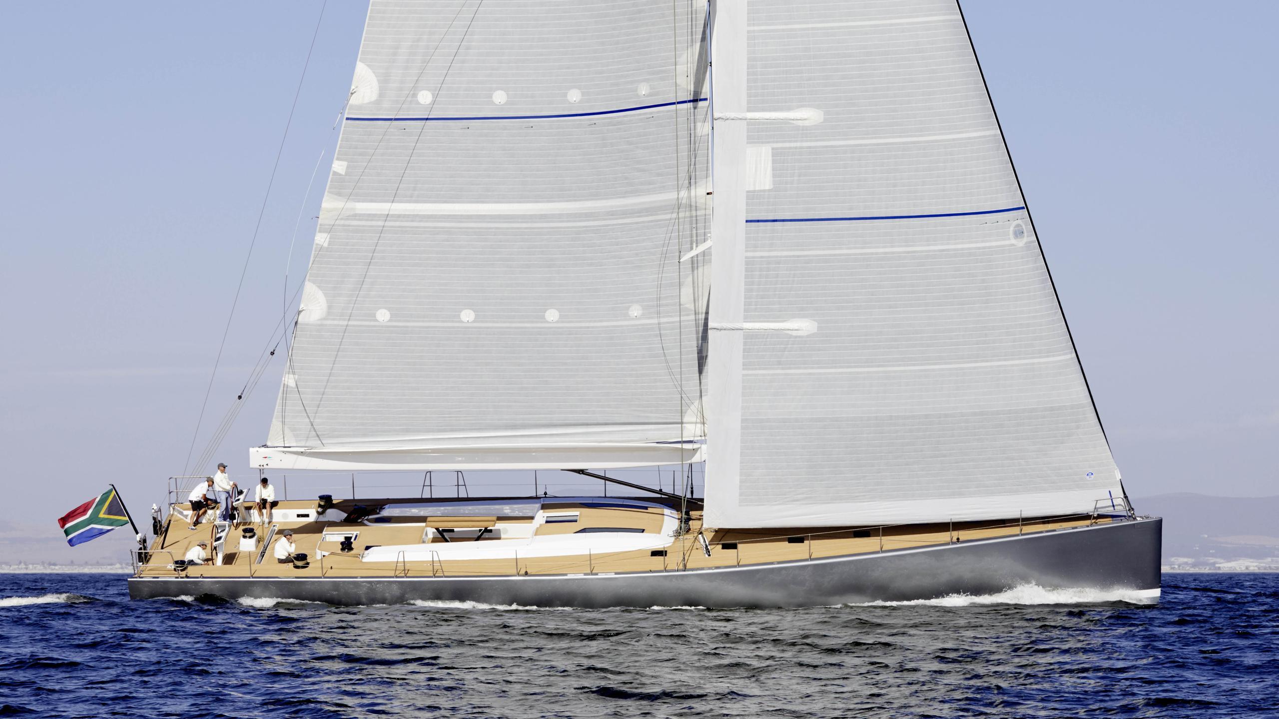 allsmoke sailing yacht southern wind shipyard swrp90 2017 27m profile