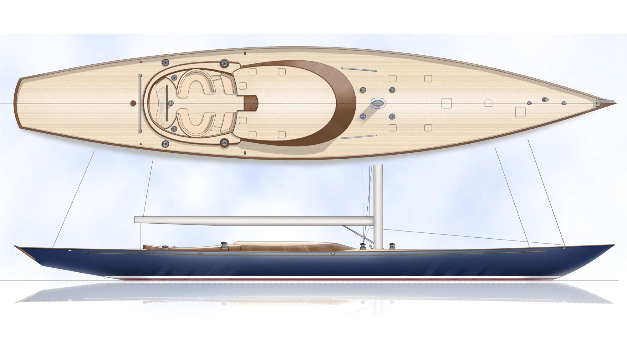spirit 111 sailing yacht spirit yachts 34m 2019 rendering