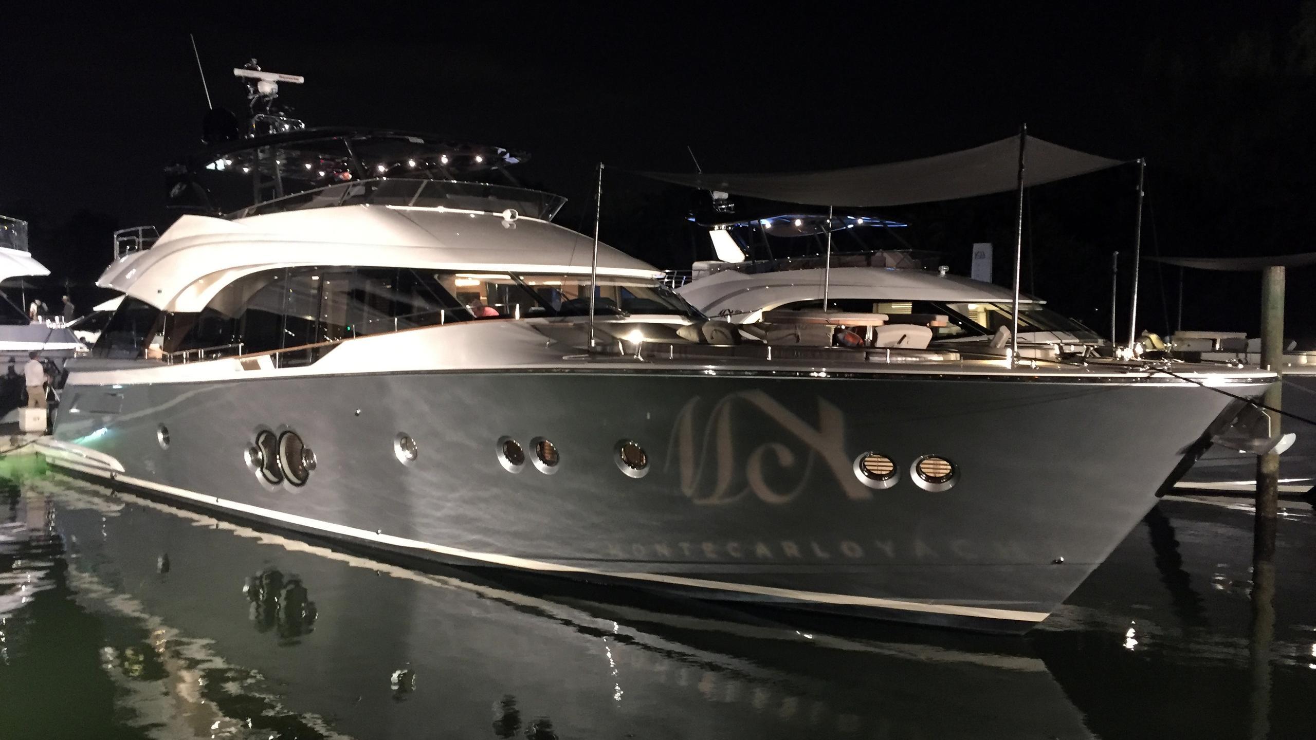 mcy 80 motoryacht montecarloyachts 25m 2017 half profile