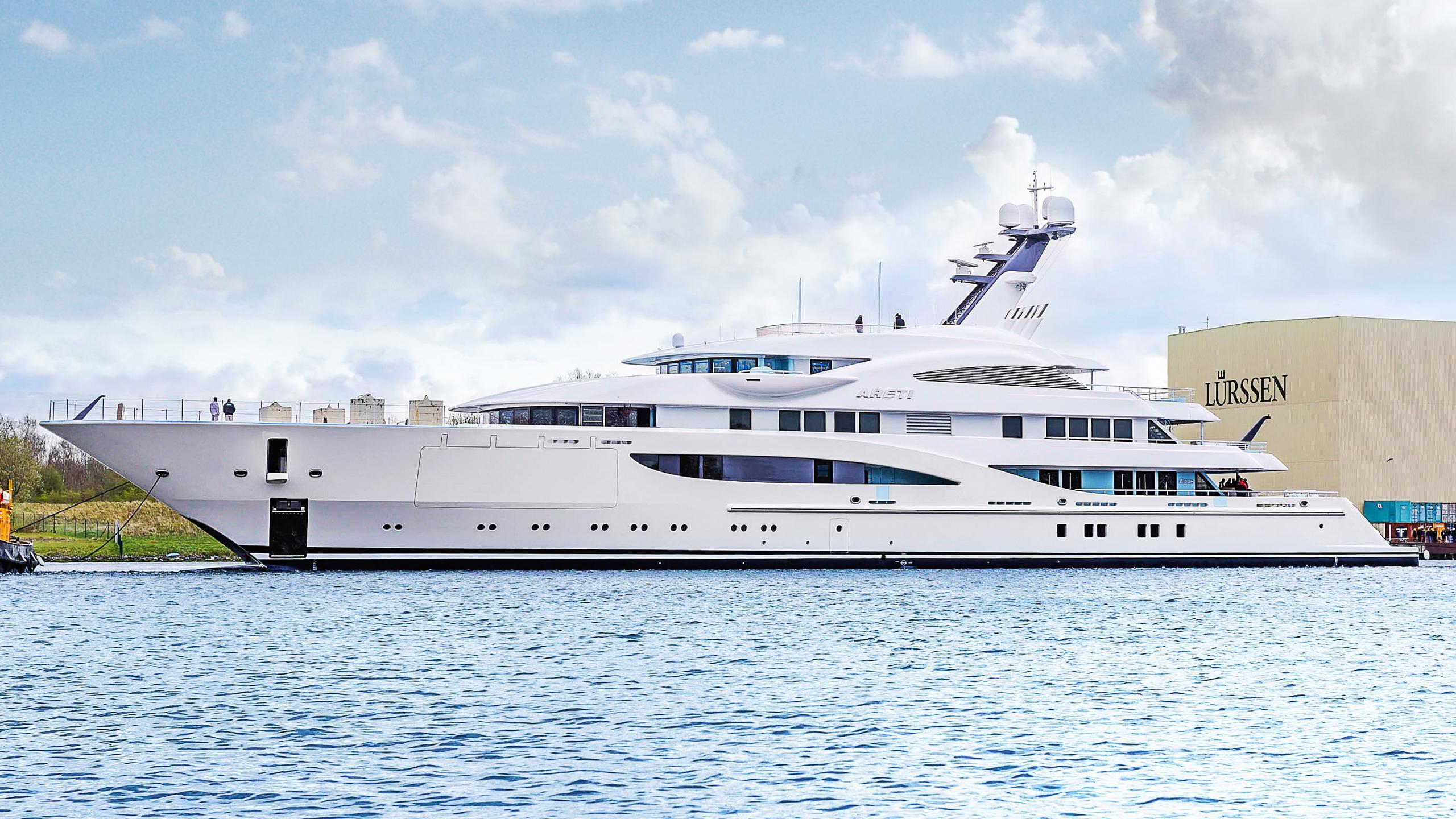 areti sasha motoryacht lurssen 85m 2017 launch profile