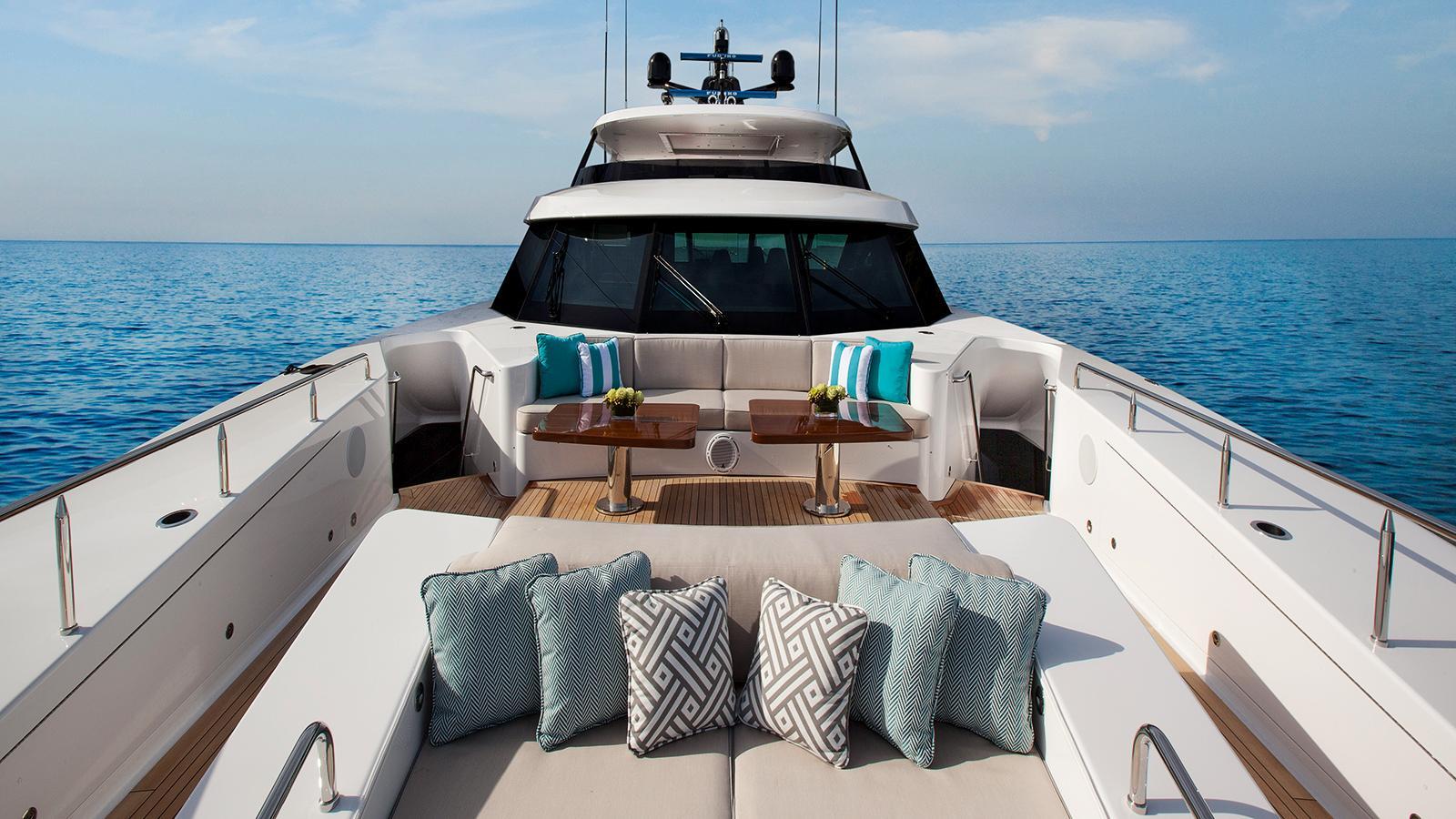black gold motoryacht westport 125 foredeck credit scott pearson
