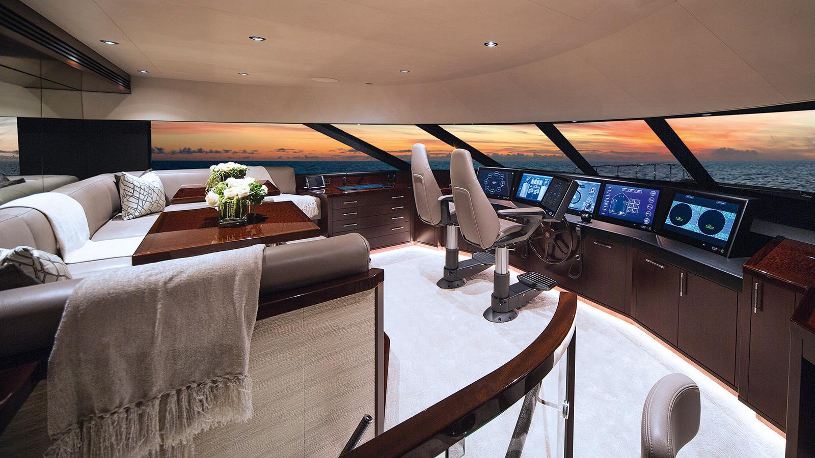 black gold motoryacht westport 125 wheelhouse credit scott pearson
