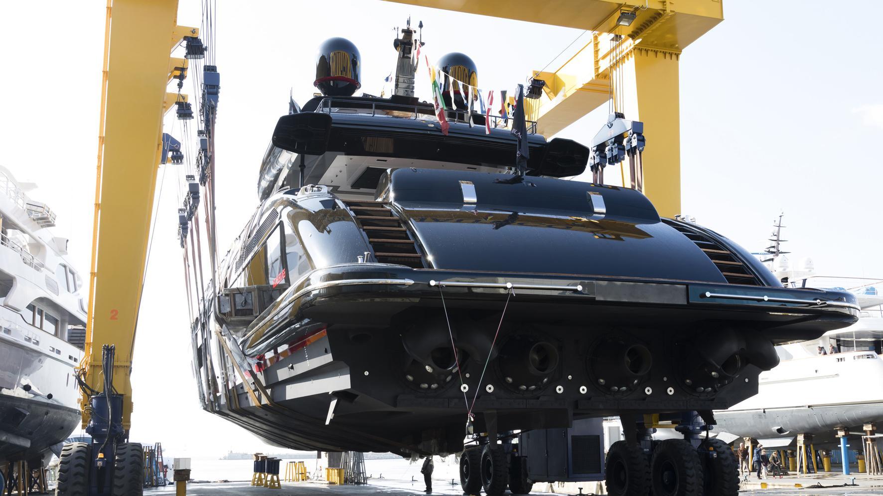 mangusta 165 hull 12 motoryacht overmarine mangusta 165 50m 2017 launch half stern