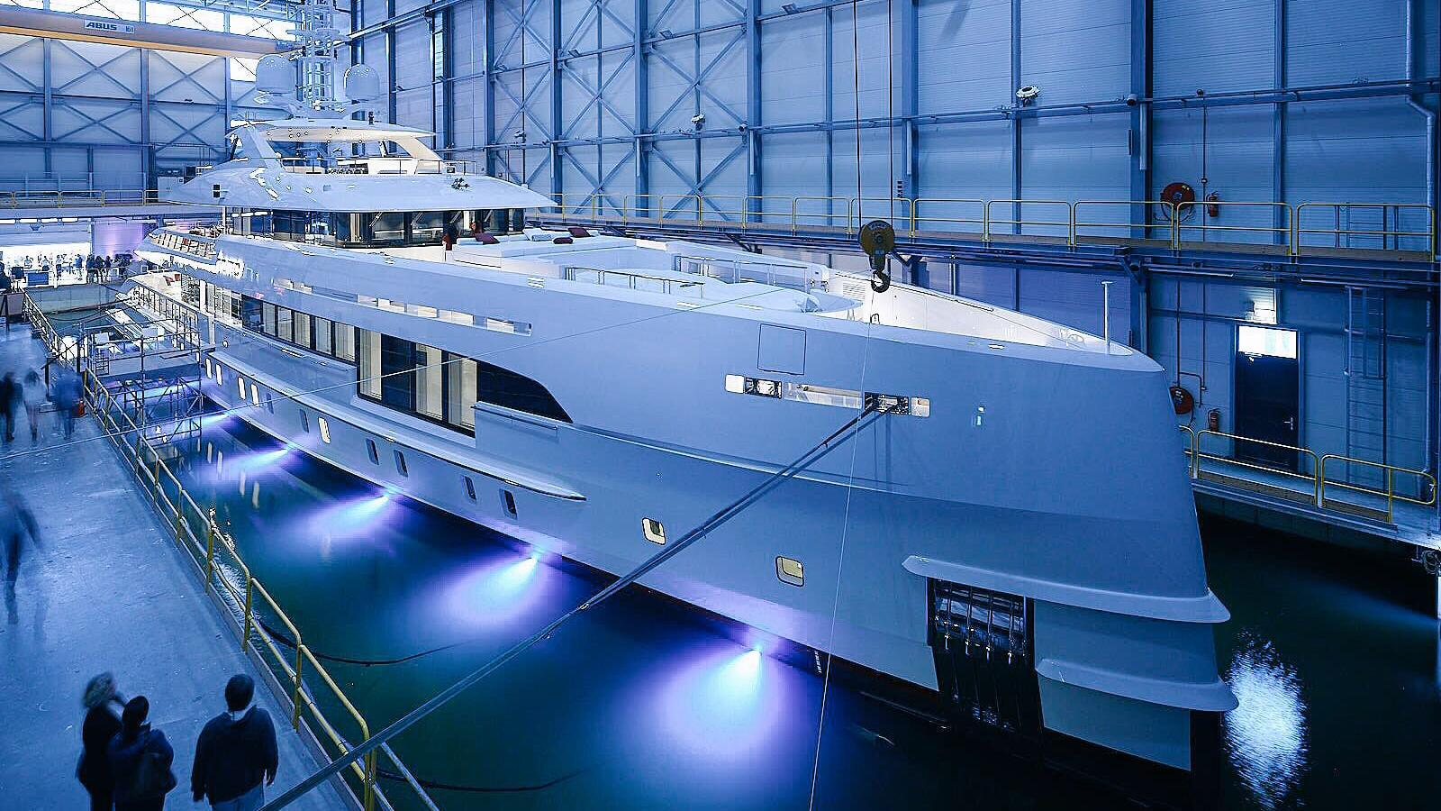 home project nova 17850 motoryacht heesen yachts 2017 50m launch half profile