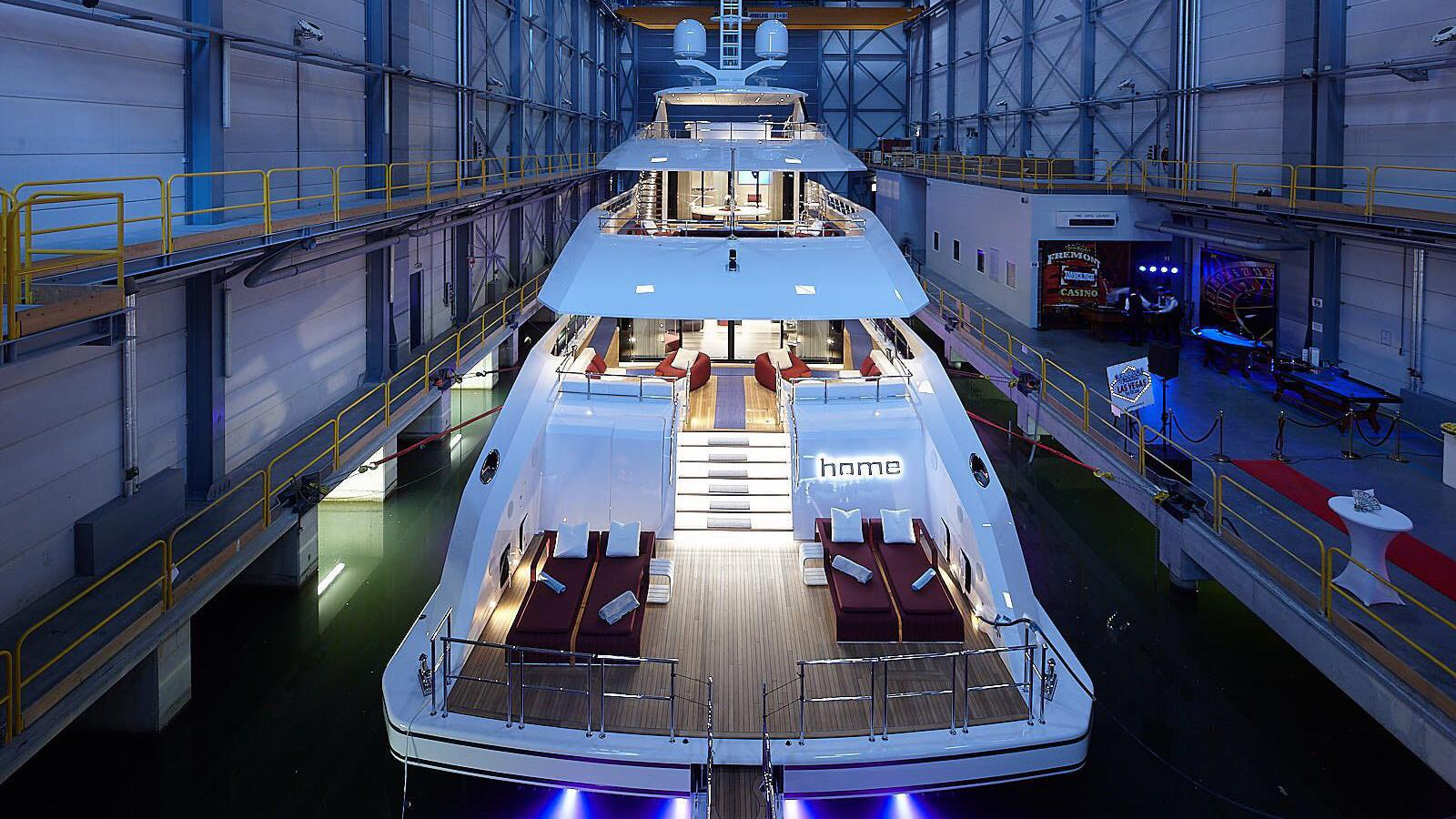 home project nova 17850 motoryacht heesen yachts 2017 50m launch stern