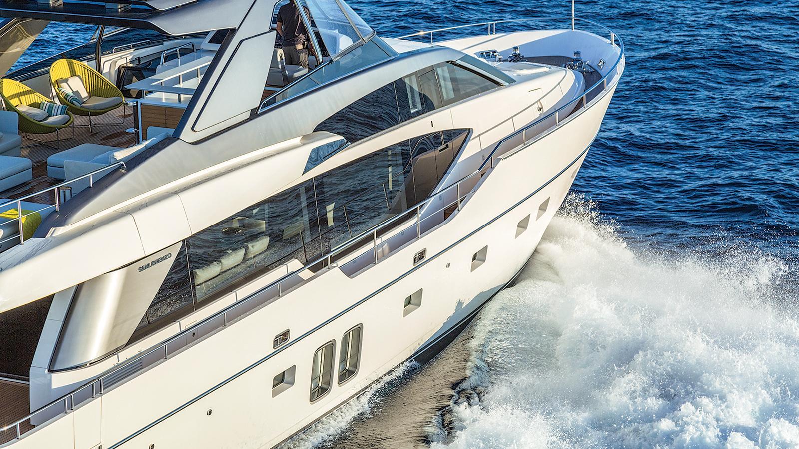 hull 651 motoryacht sanlorenzo sl86 27m 2016 cruising credit jim raycroft