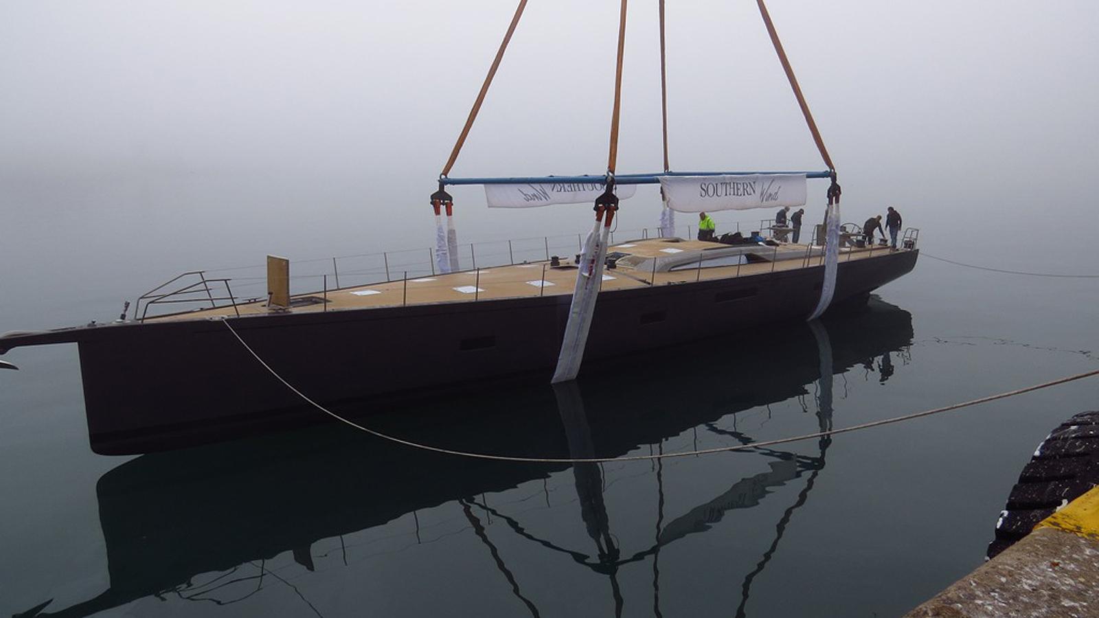 sorceress sailing yacht southern wind shipyard 96 29m 2017 launch