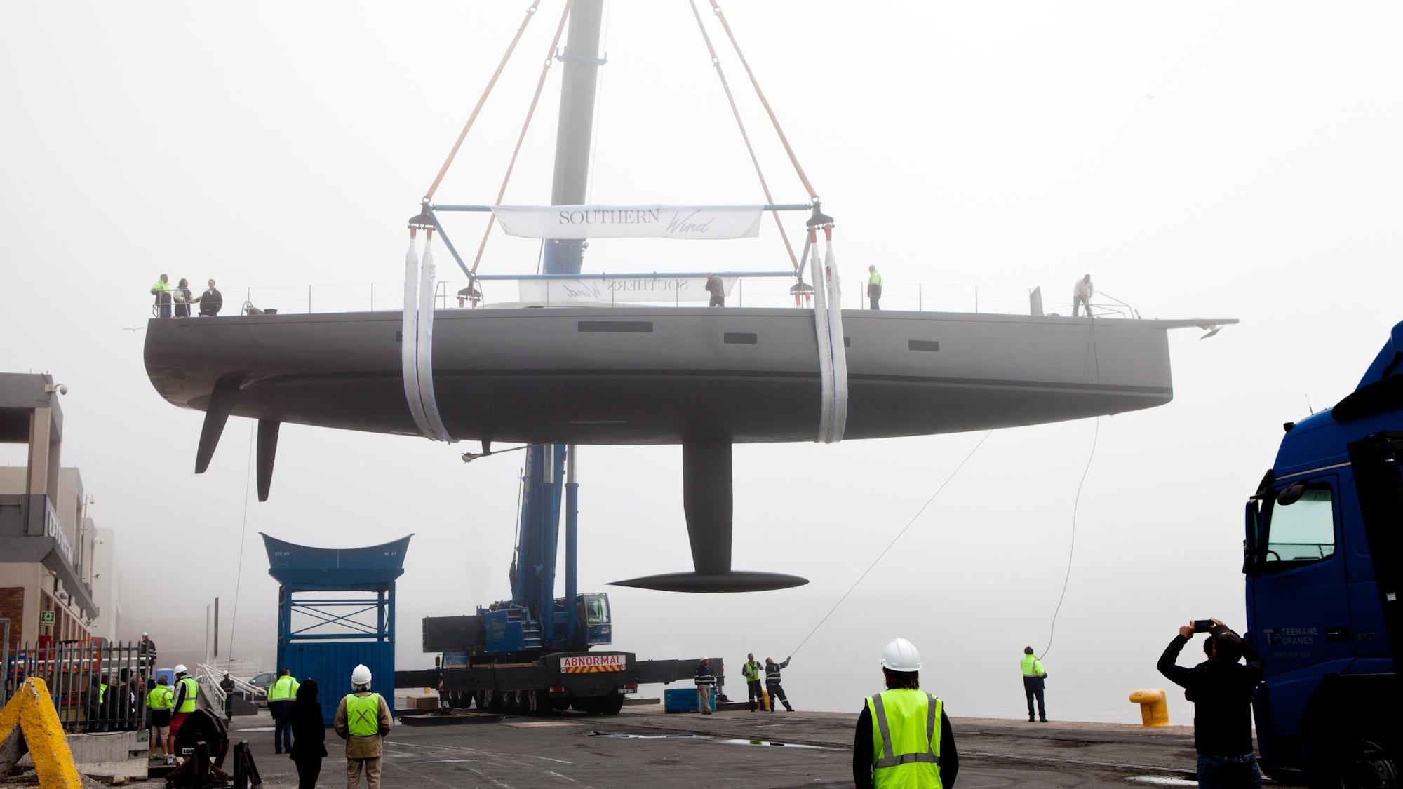 sorceress sailing yacht southern wind shipyard 96 29m 2017 launch profile