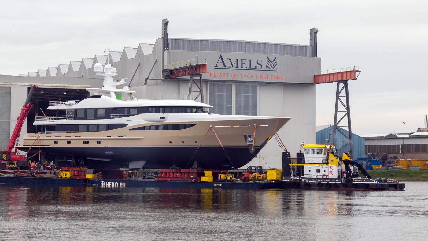 lili motoryacht amels le180 55m 2017 launch