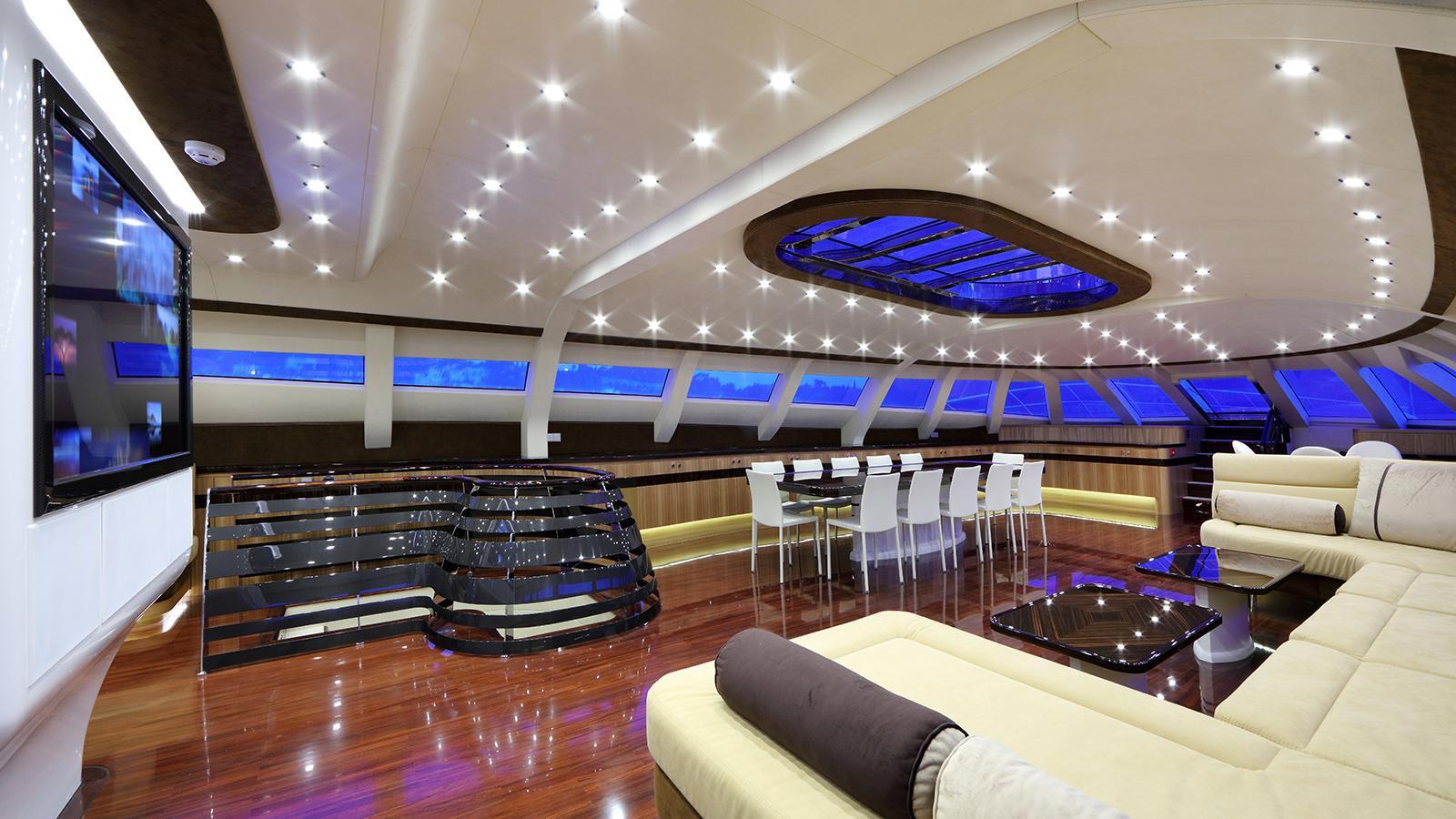 galaxy of happiness trimaran yacht latitude 2016 53m saloon