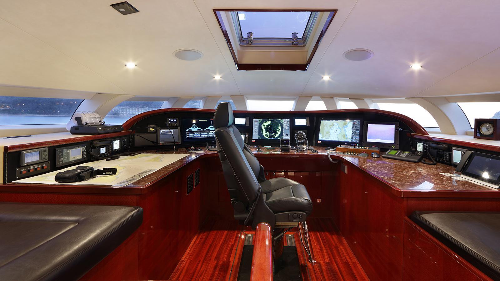 galaxy of happiness trimaran yacht latitude 2016 53m wheelhouse