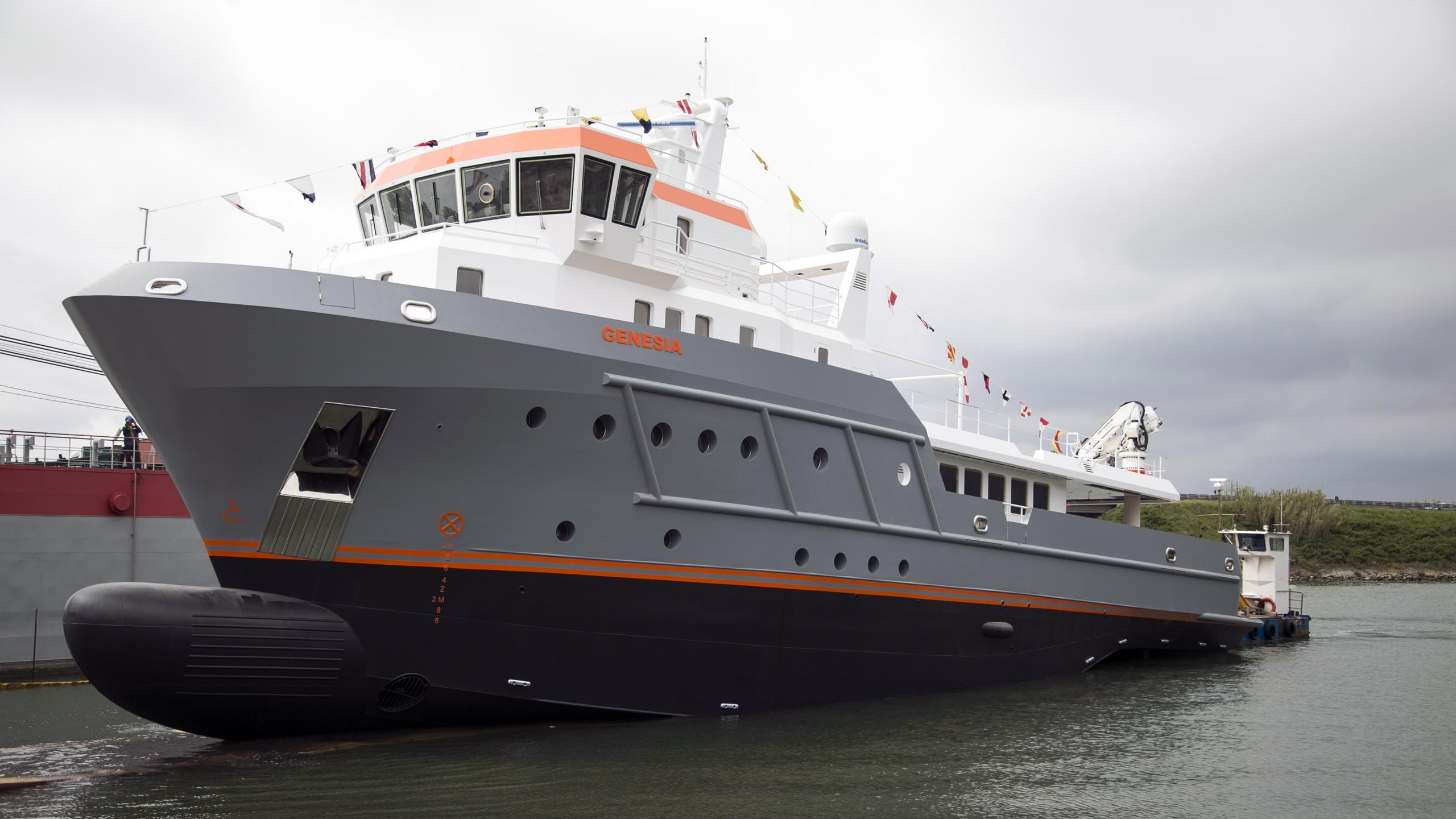 genesia motoryacht chioggia ocean king 130 yacht 40m 2017 launch half profile
