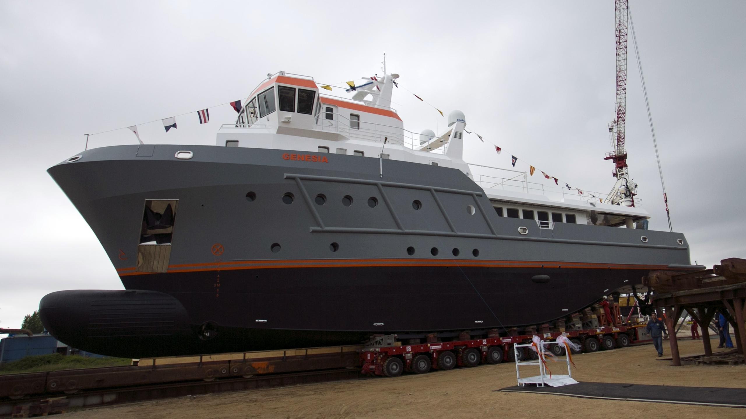 genesia motoryacht chioggia ocean king 130 yacht 40m 2017 launch profile