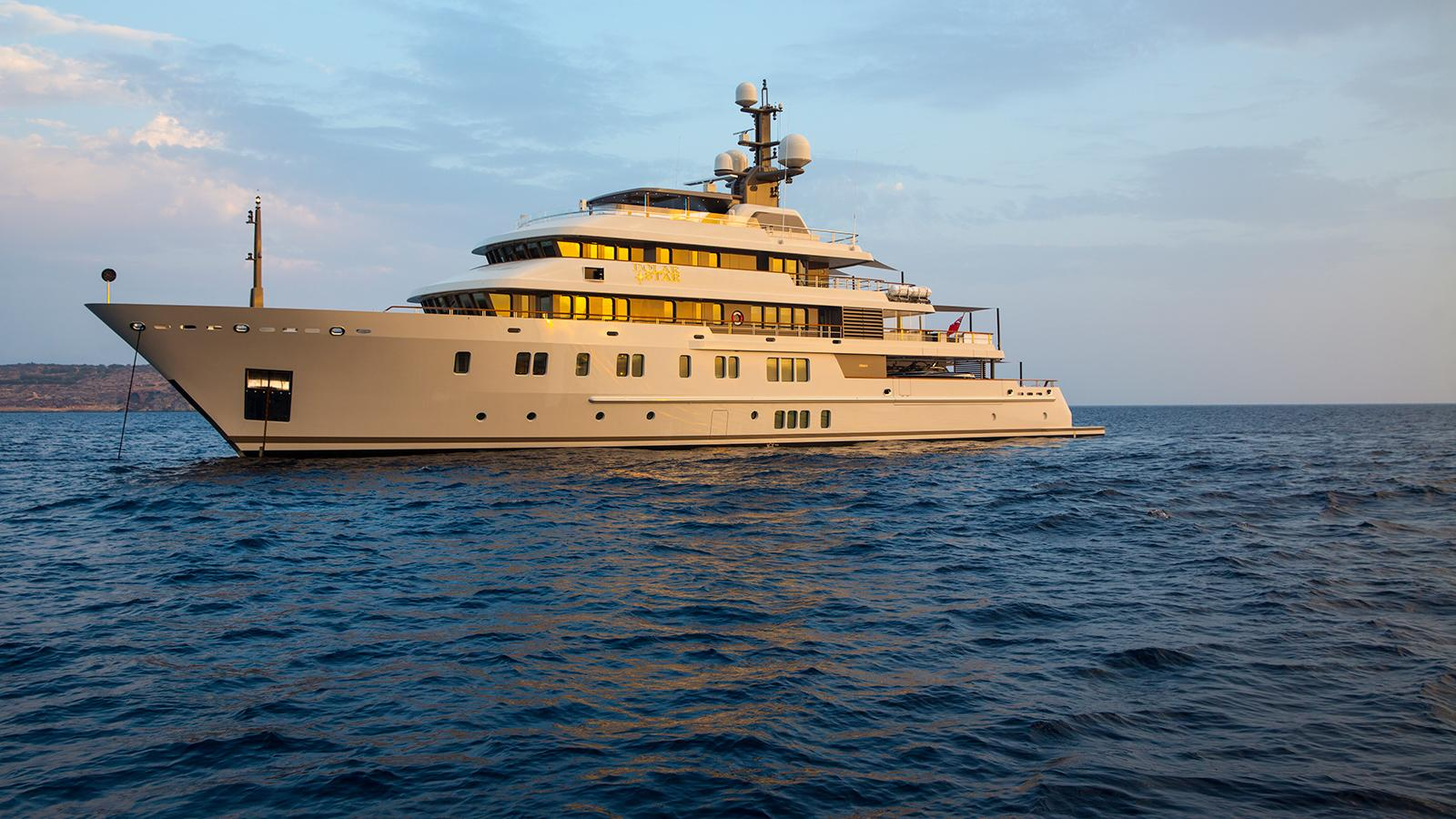 polar star explorer yacht lurssen 2005 65m profile
