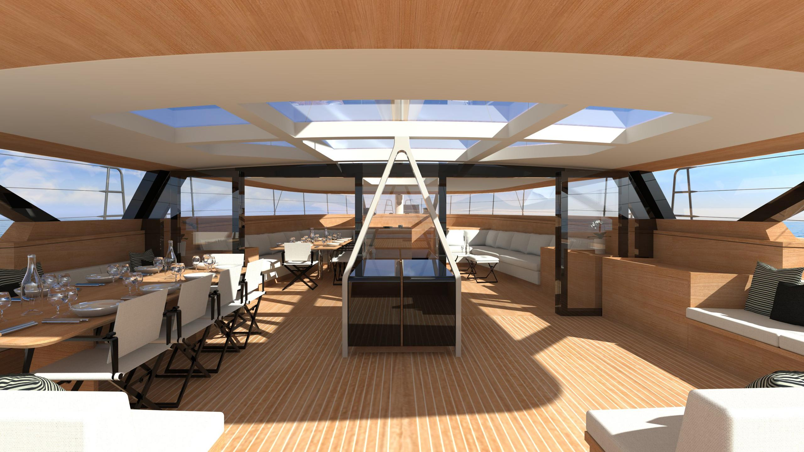 wally 145 persico marine 44m 2019 rendering living area