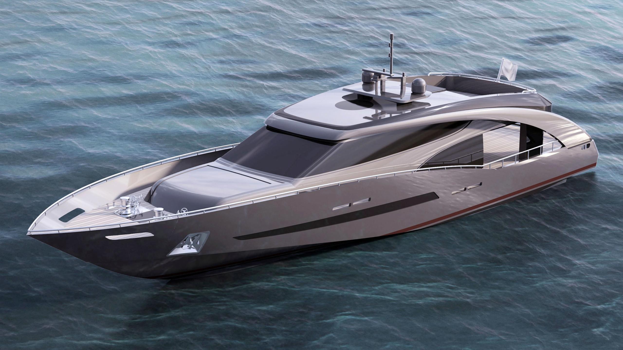 fuoriserie 27m motoryacht ccn 27m 2018 rendering