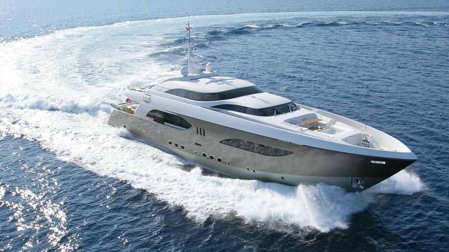 namaste 8 motor super yacht