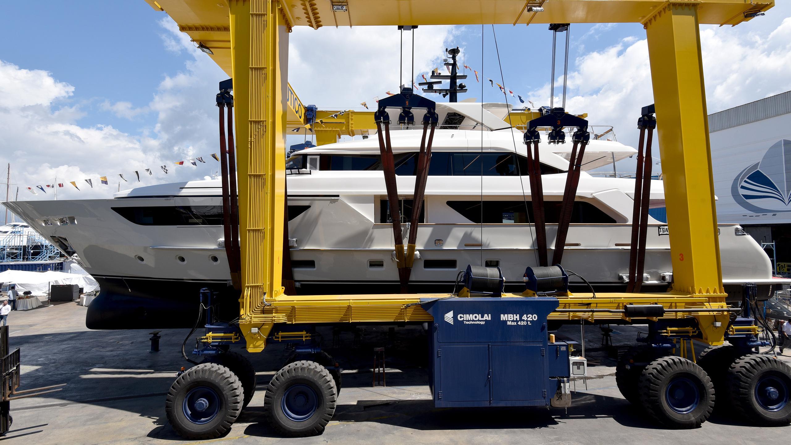 sim sim motoryacht sanlorenzo sd126 38m 2017 launch profile