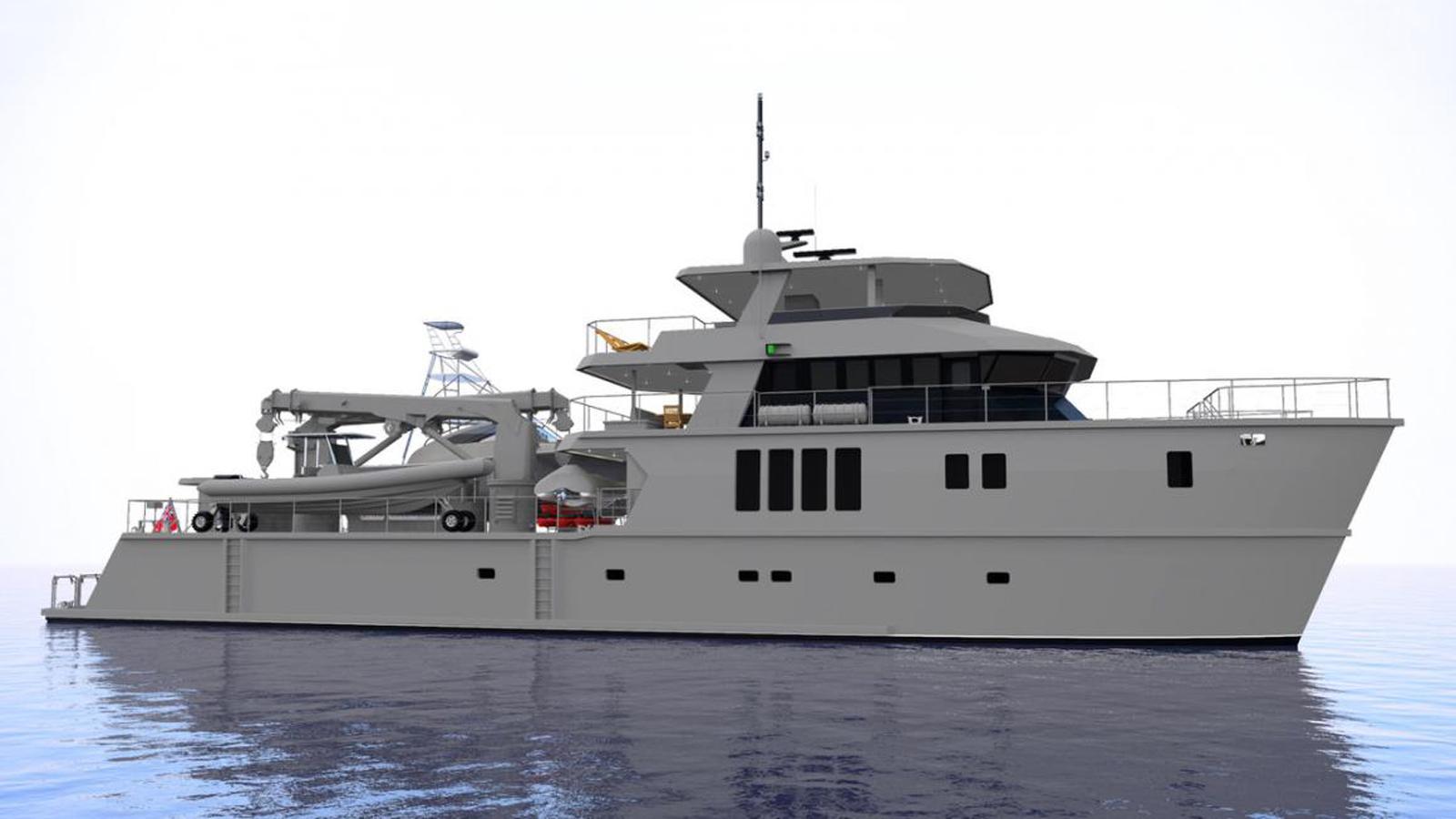 the beast motoryacht profab 39m 2019 rendering