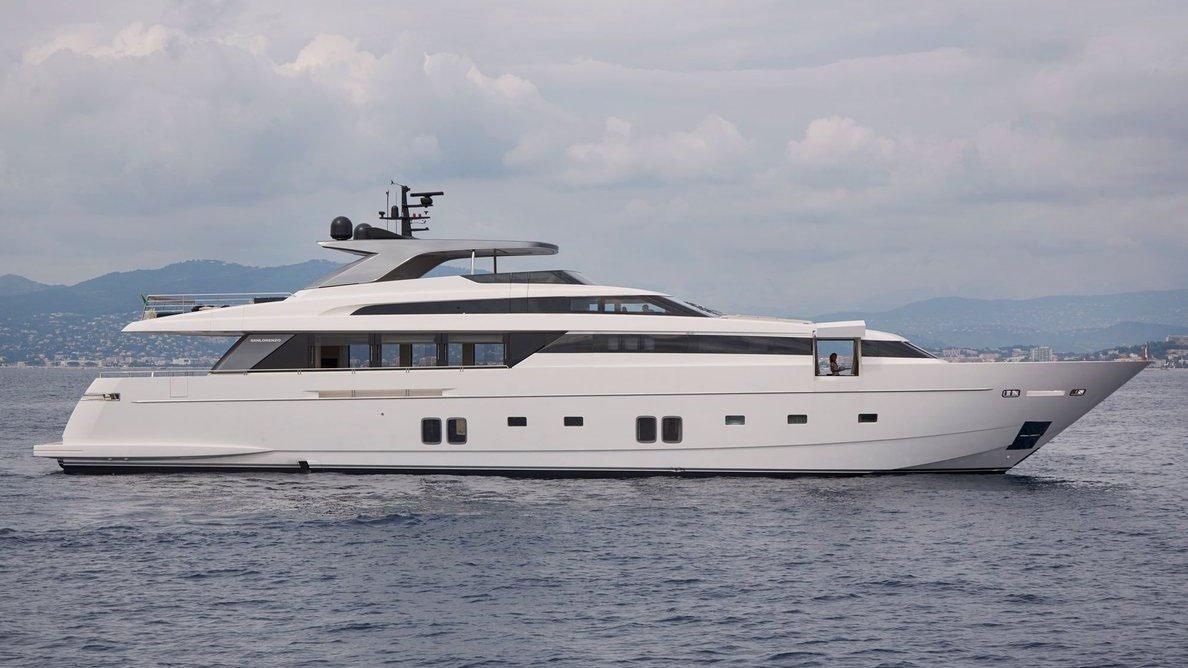 motoryacht sanlorenzo sl118 36m profile sistership